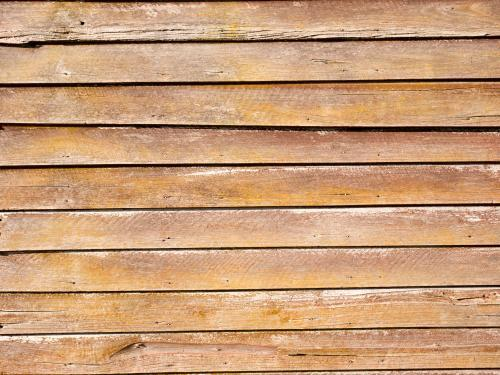 Old well weathered weatherboards on a building