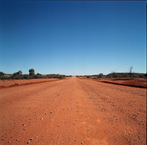 Outback Road, Red Earth Australia