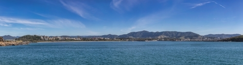Pano of Coffs Harbour, taken from the Southern Breakwall