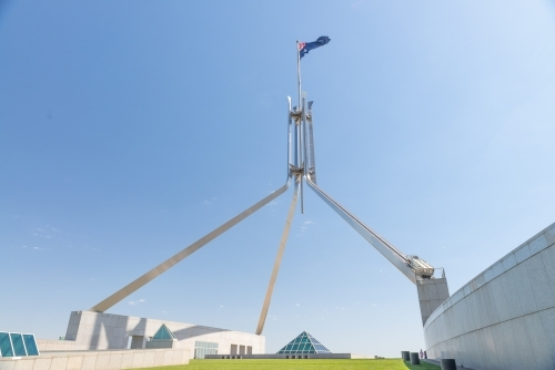 Parliament House rooftop