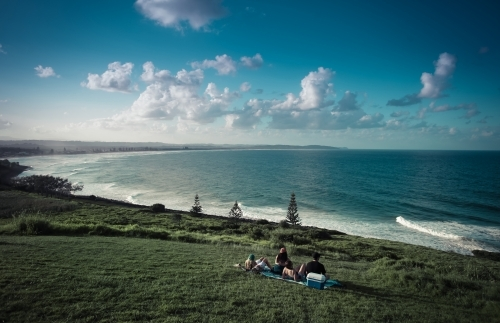 Picnic at Lennox Head Headland