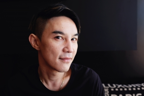 Portrait of Southeast Asian multicultural man