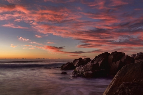 Pre-dawn at Zenith Beach, Port Stephens