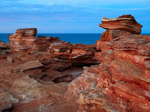 Red Rocks at Gantheaume Point in Broome