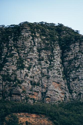 Rock formation at The Grampians National Park