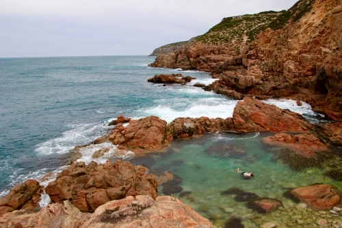 Rock Pools by the Ocean