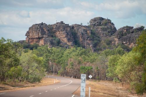 Rocks and road in Kakadu