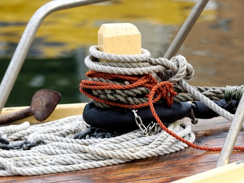 Rope on a Boat