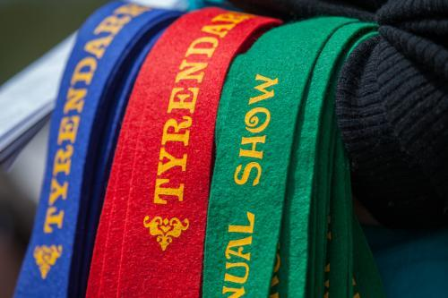 Show Ribbons at country show