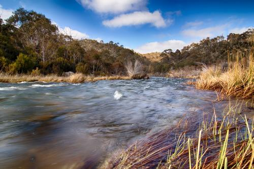Snow Melt Flowing Down the Snowy River