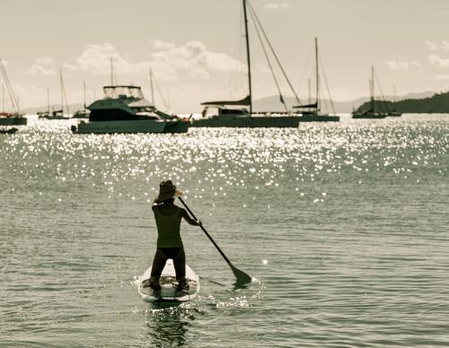Stand Up Paddleboard at Airlie Beach.