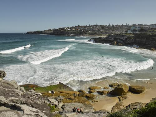 Tamarama Beach from Bondi to Bronte walk