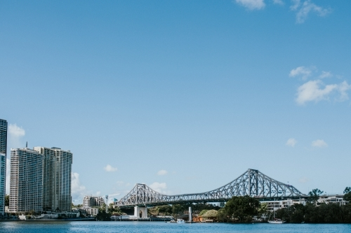 The Story Bridge over the Brisbane River