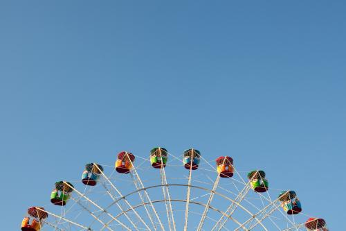Top of the Ferris Wheel at Sydney Royal Easter Show