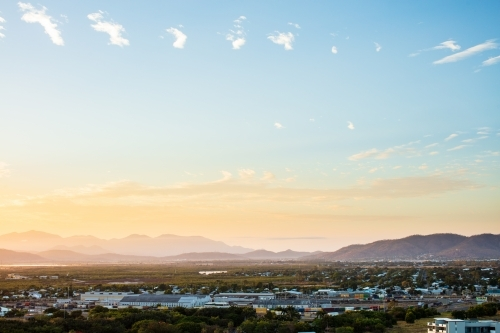 Townsville Skyline looking South