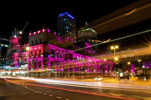 Treasury Casino through Light Trails