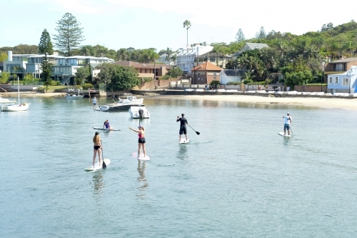 Upright Paddle Boards