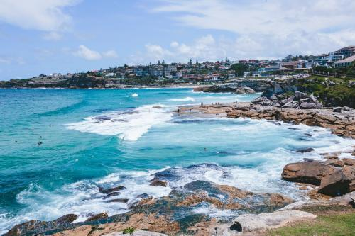 View from Bondi to Bronte walk