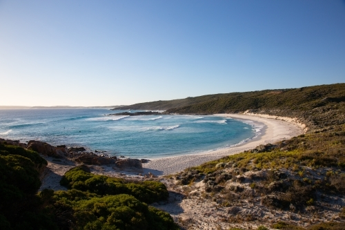 View over Native Dog Beach at Bremer Bay