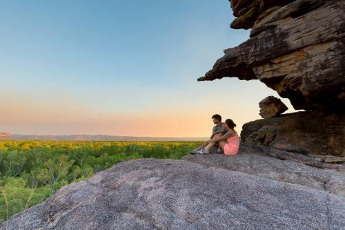 Watching sunset - a Kakadu Lookout