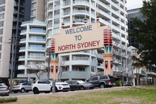 Welcome to North Sydney Sign