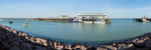 Stokes Hill Wharf, Darwin Waterfront