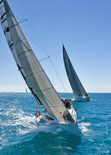 Yachts competing in Airlie Beach Race Week.
