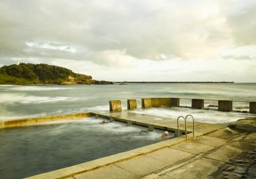 Yamba Ocean Pool, New South Wales
